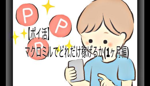 【ポイ活】マクロミルでどれだけ稼げるか(1ヵ月編)